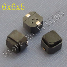 20pcs/lot Tactile Switch 6x6x5 for Dell Lenovo Acer Laptop Tablet etc Plastic power switch push button 6*6*5