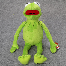 Hot Sale 14'' 40cm Kermit Plush Toys Sesame Street Doll Stuffed Animal Kermit Toy Plush Frog Doll Holiday Gift ANPT482(China)