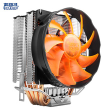 PCcooling CPU cooler 10cm quiet fan 4 copper heatpipes computer pc cpu cooling radiator for AMD Intel 775 1155 1150 1151 1156