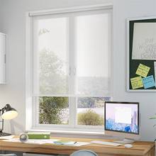 Window Sunscreen Solar Roller Blinds Shades(NEW Top,Nickel chain)finished blinds,Contact us for more sizes,colors or motorized