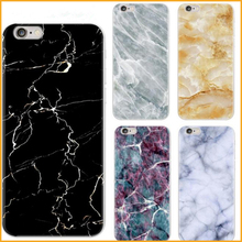 New Arrival Hot Selling Printed Granite Marble Design Phone Case For iphone 7 Cellphone Soft TPU Case Cover Coque XY4057