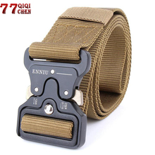 Buy Brand Mens Military Tactical Belt Military Nylon Belt Outdoor multifunctional Training Belt Men Equipment Paintball Army Belt for $2.98 in AliExpress store