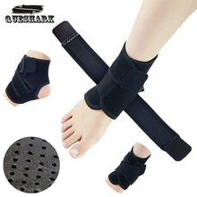 Badminton Ankle Support Pad Protector Elastic Ankle Bandage Brace Guard Support Gym Foot Wrap Ankle Sprain Sports Protection