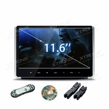 "XTRONS 1pc Monitor 11.6"" HD Digital TFT Touch Panel 1080P Video Car Headrest DVD Player with HDMI Port FM-TX USB GAME"