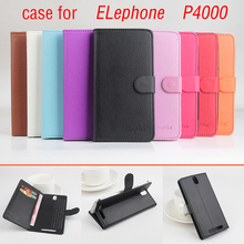 Buy Elephone P4000 Case Book Style Magnetic Flip Leather Case Cover Elephone P4000 Wallet Stand & Card Slots for $7.52 in AliExpress store