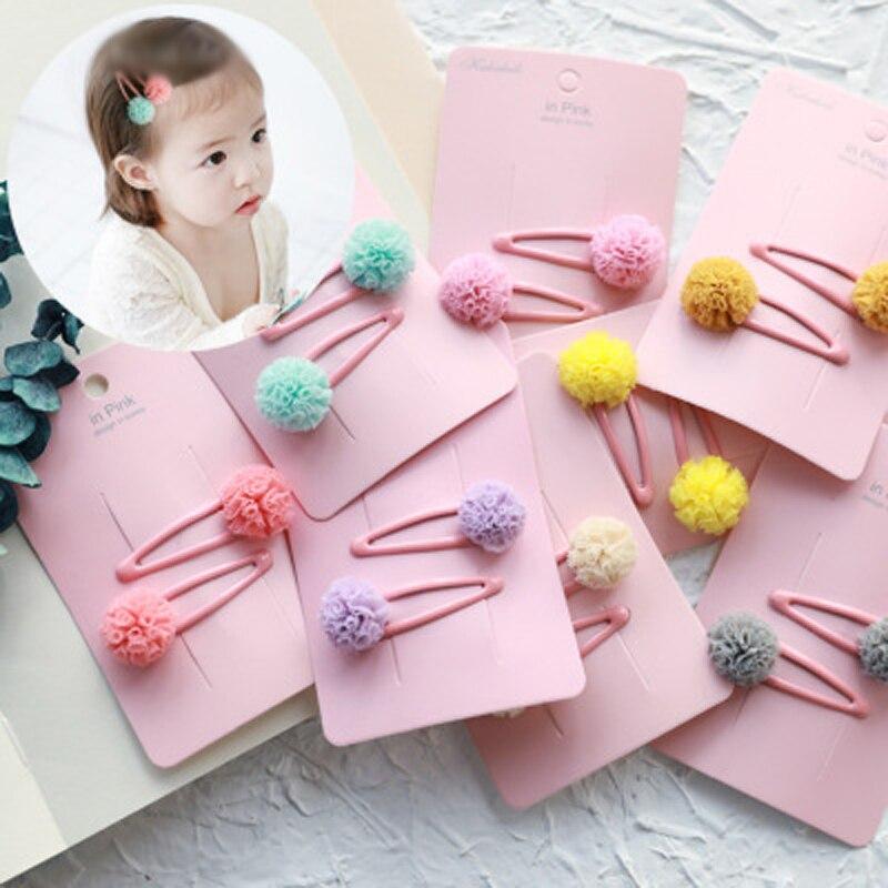 Kids Headwear Baby Girls Cute Hairpins BB Hair Clips Hairgrips Metal Barrettes