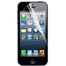 10 pcs/lot Special Discount Transparent Front Screen Protector for Apple iPhone 5 5s WHD705