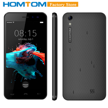 "Moscow offline pavilion HOMTOM HT16 Smartphone 3G Android 6.0 Quad Core MTK6580 5.0"" 1GB RAM 8GB ROM Dual Cameras Cellphone(China)"