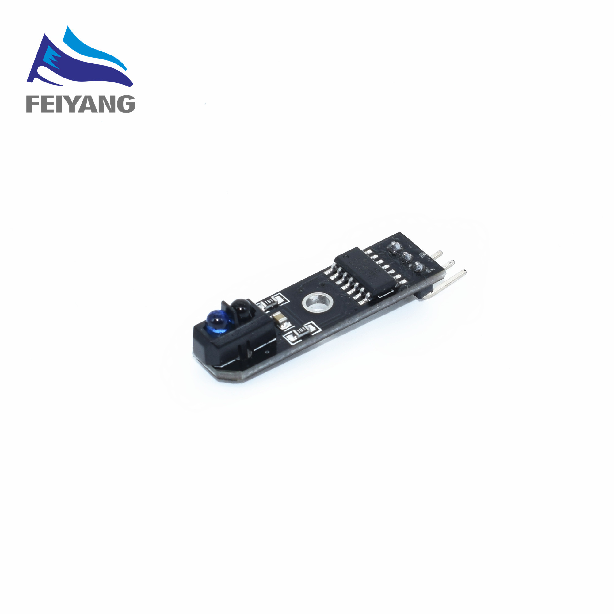 1PCS SAMIORE ROBOT 1 channel tracing module/ 1 way Intelligent Vehicle TCRT5000 tracker sensor probe infrared 1