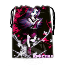 H-P774 Custom Monster high#18 drawstring bags for mobile phone tablet PC packaging Gift Bags18X22cm SQ00806#H0774(China)