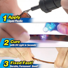5 Second Fix Fill Seal In Seconds Repair Tool All-purpose Adhesive Glue ABS PVC GLUE UV Ligtht Universal Liquid