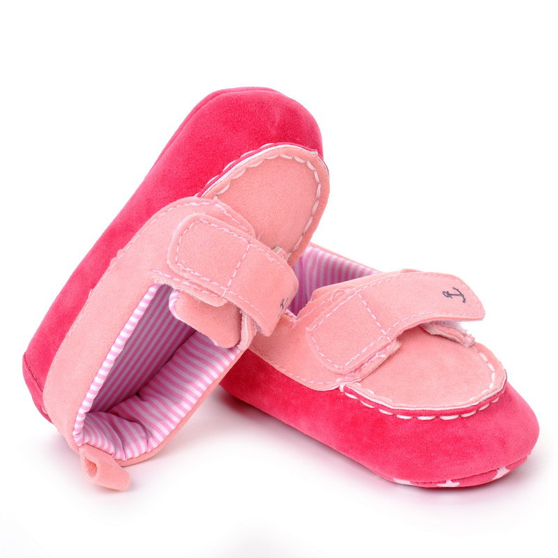 17 Fashion Newborn Baby Girl Boy Shoes Soft Sole Infantil Toddler Baby Boy Sneakers Blue Baby Mocassins Crib Peas Flock Shoes 11