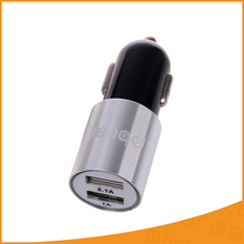 5V 2.1A 2 Ports Mini USB Car USB Socket Auto Adapter with Led Light Power Bank for iPhone 7 6 Samsung S7 S6 Xiaomi HTC Cameras