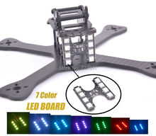 Mini 210mm 210 Cross Racing Quadcopter 3K pure carbon + Chimp LED Board Light Lamp Spare Part for GEPRC GEP-TX