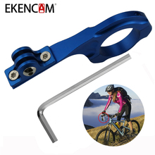 Buy EKENCAM Aluminum Alloy Long Bicycle Bike Handlebar Clamp Clip Mount Xiaomi Yi 4k SJCAM SJ4000 GoPro Hero 6 5 4 Session H8r for $5.64 in AliExpress store