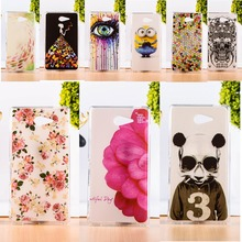 TAOYUNXI DIY Painted TPU & Plastic Cover For Sony Xperia M2 S50H D2303 D2406 Cell Phone Case Anti-Knock Function Phone Skins(China)