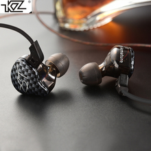 KZ ZST Armature Dual Driver Earphone Dynamic Mic Replaceme Cable In Ear Audio Monitors Noise Isolating HiFi Music Sports Earbuds