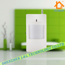 100pcs~Wireless PIR Detector Motion Sensor Detector Security Accessory for GSM PSTN Home Alarm  433Mhz