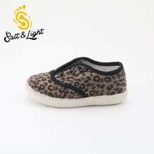 2017 spring children's casual shoes new children's canvas girls flat with shoes leopard boys shoes fashion sneakers size22-26