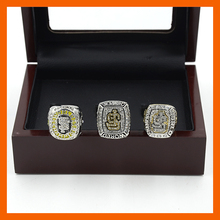 New Replica Wooden Box Set San Francisco Giants Set (2010/2012/2014)Major League Baseball Championship Ring for Fans