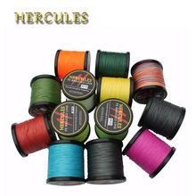 Hercules Ocean Beach Fishing 547Yds 8 Strands Carp Fishing Line Big Game 500M 180LB 0.70mm Superior Extreme Braided Fishing Line(China)