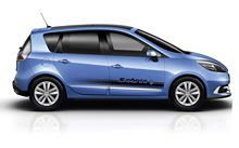 Car Styling for 2X RENAULT SCENIC side skirt vinyl body decal sticker graphics premium quality