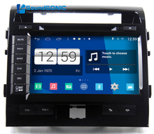 Android 4.4 Car Multimedia For Toyota LandCruiser Land Cruiser 200 LC200 Radio DVD GPS Navigation Sat Navi Audio S160 System(China)