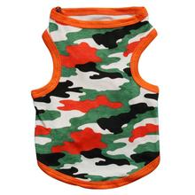 Mordern Fashional Multifunctional Durable Dog Clothes For Small Dogs  Cotton Snow Camouflage Vest Pet Dog Clothes Apparel