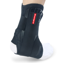 2 Pcs Kuangmi Ankle Support Brace Sports Volleball Foot Stabilizer Basketball Ankle Strap Protector Adjustable Wraps Bandage New