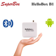 HELLOBOX Bluetooth Satellite Finder Android System APP For Satellite TV Receiver New Model APP Satellite Finder(China)