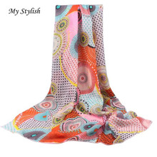 My Stylish Hot !! New Fashion Women Long Soft Wrap scarf Ladies Shawl Chiffon Scarf Scarves 1PCS Low Price Free Shipping Oct 25
