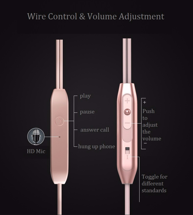 3.5mm Super Bass Stereo Earphone Heavy Low Earbuds for Sony Xperia Z L36h C6602 C6603 Ultra C6833 fone de ouvido