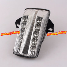 High Quality Integrated LED Rear Tail Light Turn Signal For Suzuki SV 650 03 04 05 06 07 08 Clear