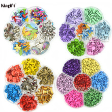 Assorted Color Metal Brads For Scrapbooking, Painting Brads For DIY Album Decor., Scrapbook Embellishment Brads Collections(China)