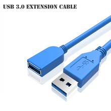 30CM High Speed USB Extension Cable USB 3.0 Male A to USB3.0 Female for U Disk Wireless Lan Printer Mobile Phone Camera Mouse(China)