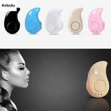 New Fashion Mini Stealth Earphone Headphone Little Finger Size Wireless Bluetooth 4.0 Stereo Headset Handfree for All phone(China)