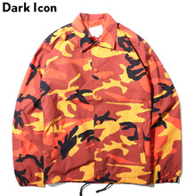 Camouflage Turn-down Collar Men's Jacket 2017 Autumn Thin Style Multy Camo Jackets Men 8 Colors(China)