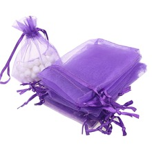 1pcs Organza Bags 7x9 cm ,Wedding Pouches Jewelry Packaging Bags ,Nice Gift Bag ,100pcs/lot Hot