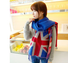 Big England British Flag Heavy Large High Quality Comfortable Cashmere Blend Scarf(China)