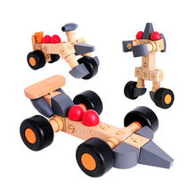 Hot QQ 100 Car Series Auto Assembly Building Blocks To Construct Children Puzzle Toys Model Building Kits Educational Toys(China)