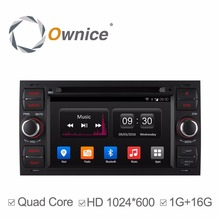 Ownice C300 Quad Core Car DVD Player for Old FORD Series FOCUS 2 MONDEO S-MAX C-Max Fushion Galaxy Kuga Connect 2005-2009