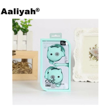 [Aaliyah] New Cat Cute Earphones Ear Hook Candy Color Kids Children Girls Earphone With Microphone for MP3 iPhone Xiaomi Samsung(China)