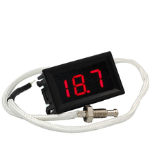 XH - B310 K type thermocouple industrial digital  display temperature thermometer temp measuring table DC12V  40%off