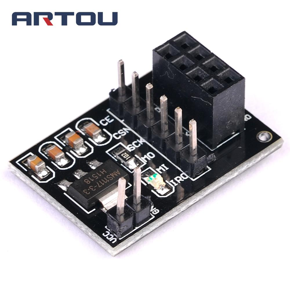 Detail Feedback Questions About 20w Hifi Lm1875t Mono Channel Tda2030 35w Bridged Amplifier 1pcs Ams1117 Nrf24l01 Socket Adapter Plate Board For 8pin Wireless Transceiver Module 51 33v