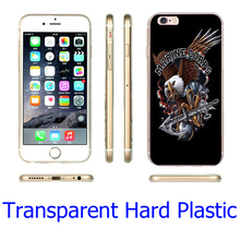 Eagle Marines Corps USMC  Hard Transparent Phone Case for iPhone 7 6 6S Plus 4 4S 5C 5 SE 5S Cover