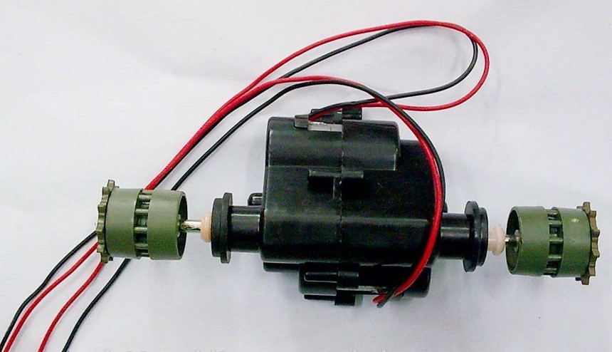 Henglong 3808 3809 3816 1/24 RC tank parts drive system/driving gear box with130 motor free shipping<br><br>Aliexpress