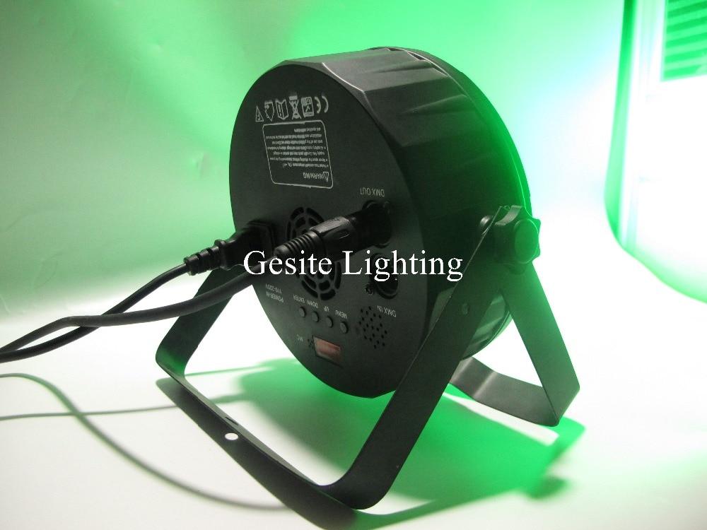 (12 pieces/lot) par led rgbw 9*12w dmx wash par light american dj par rgbw 4in1 dmx led flat par light led lamp<br>