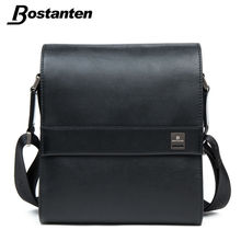 Bostanten Man Vertical Genuine Leather bag Men Messenger Business Men's Briefcase Designer Handbags High Quality Shoulder Bags(China)