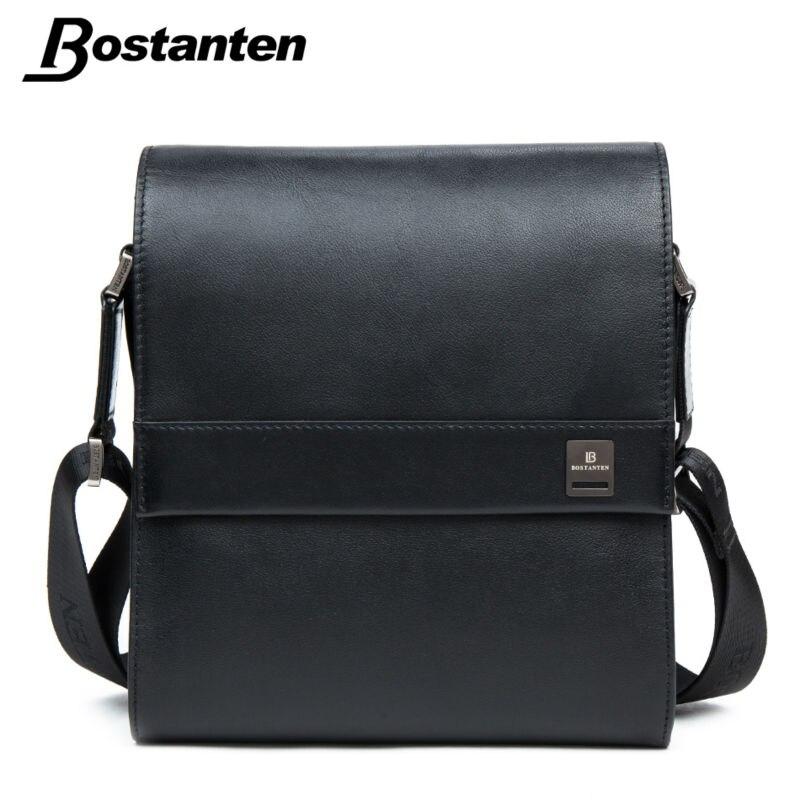 2aa089cbf645 Buy Cheap Bostanten Man Vertical Genuine Leather bag Men Messenger  Commercial Men s Briefcase Designer Handbags High Quality Shoulder Bags  Price