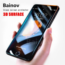 Buy Bainov Full Cover Screen Protector iPhone 6 7 Plus 3D Soft Edge Tempered Glass iPhone 7 8 Plus 8 3D Protector Glass Film for $1.09 in AliExpress store